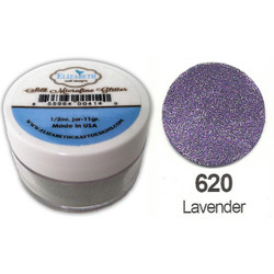 Elizabeth Craft Designs Silk Microfine Glitter, Lavender - 855964004287