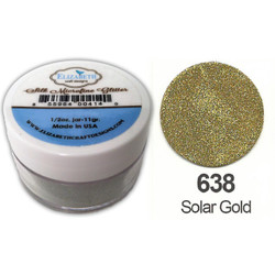 Elizabeth Craft Designs Silk Microfine Glitter, Solar Gold - 855964004461
