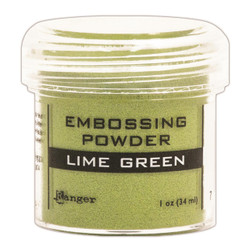 Ranger Embossing Powder, Lime Green - 789541036586
