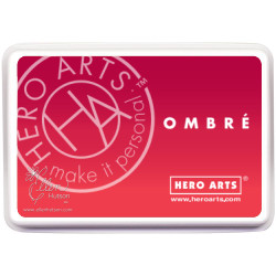 Hero Arts Ombre Ink Pad, Light To Red Royal -