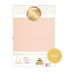 Heidi Swapp Minc Journal Cover, Blush (Retiring) -