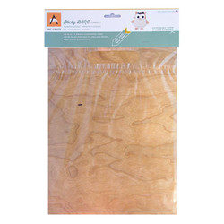 Arc Crafts Self-Adhesive Wood Sheet, Cherry - 855145004143