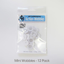 Art Impressions Mini Action Wobble, 12 pk - 750810791857