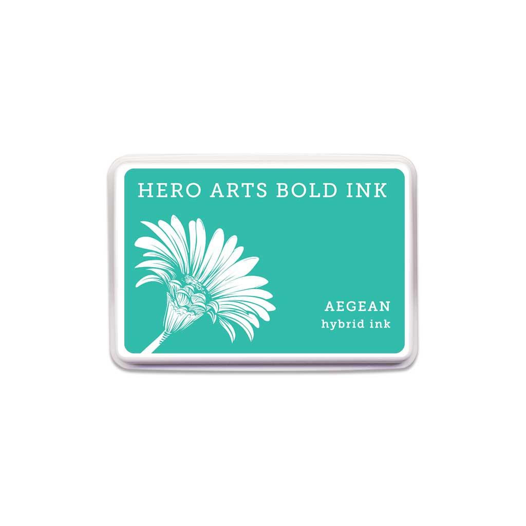 Hero Arts Bold Ink Pad, Aegean -