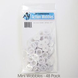 Art Impressions Mini Action Wobble, 48 pk -