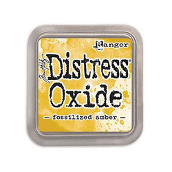 Ranger Distress Oxide Ink Pad, Fossilized Amber -