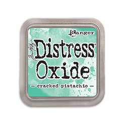 Ranger Distress Oxide Ink Pad, Cracked Pistachio -
