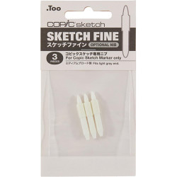 COPIC Sketch Nib Replacements, Fine - 4511338054932