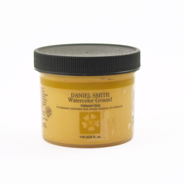 DANIEL SMITH Watercolor Grounds, Iridescent Gold 4 oz. -