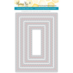 Honey Cuts Dies, A7 Double Stitched Frames - 651973563971