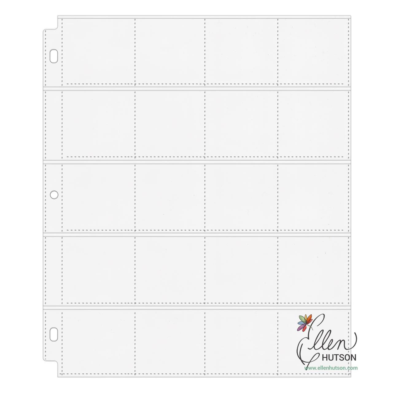 Essentials by Ellen 20-Pocket Pages, 10pk -