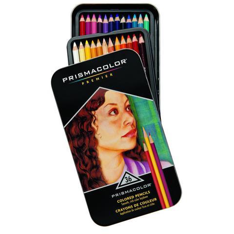 Prismacolor Premier Colored Pencils, Set of 36 - 070735928856