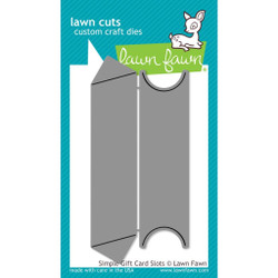Lawn Cuts Dies, Simple Gift Card Slots - 035292668140