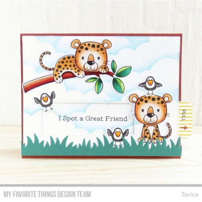 My Favorite Things Clear Stamps, Interactive Labels - 849923017760