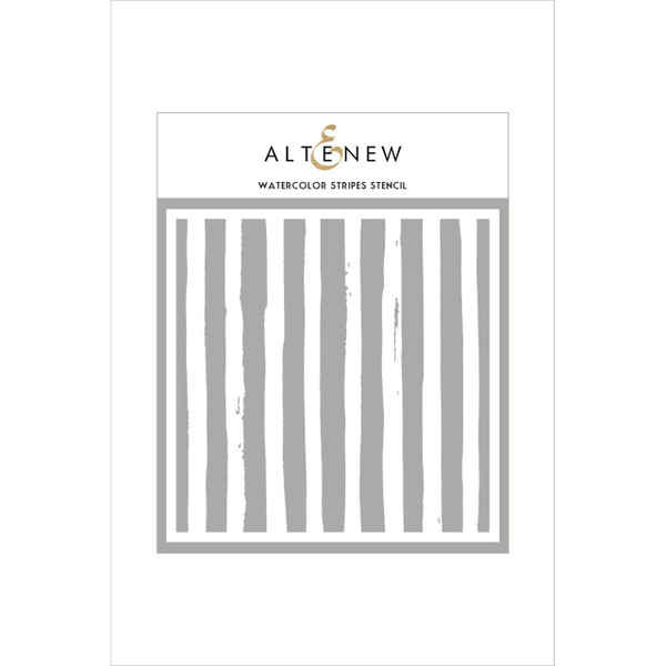 Altenew Stencils, Watercolor Stripes - 641938493603