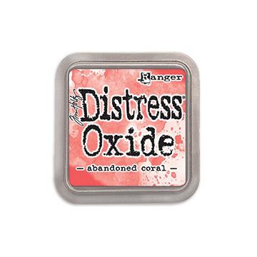 Ranger Distress Oxide Ink Pad, Abandoned Coral - 789541055778