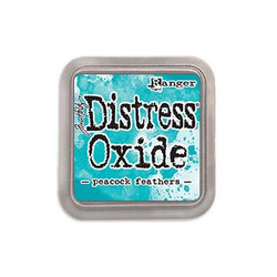Ranger Distress Oxide Ink Pad, Peacock Feathers - 789541056102