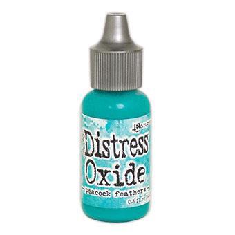 Ranger Distress Oxide Reinker, Peacock Feathers - 789541057208