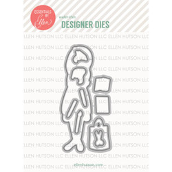 Essentials by Ellen Designer Dies, Leading Ladies - Crafty Lady by Brandi Kincaid -