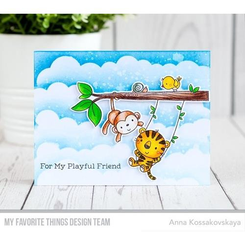 My Favorite Things Stencils, Mini Cloud Edges - 849923020999