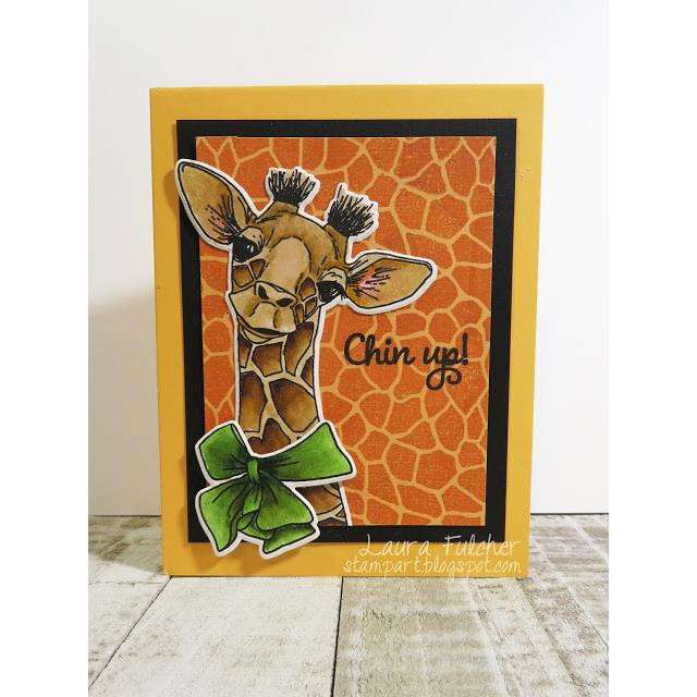 Impression Obsession Clear Stamps, Baby Giraffe -