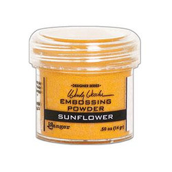 Ranger Embossing Powder, Sunflower by Wendy Vecchi -