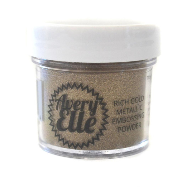 Avery Elle Embossing Powder, Rich Gold Metallic - 811568025554