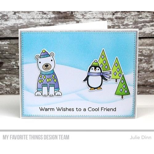 My Favorite Things  Stencils, Drifts & Hills - 849923022603