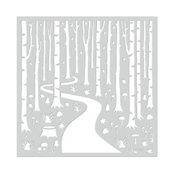 Hero Arts Stencils, Into the Woods - 857009155022