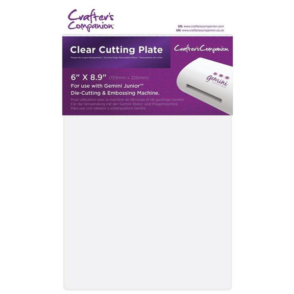 Crafter's Companion Gemini Junior Clear Cutting Plates - 709650833869