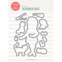 Essentials by Ellen Designer Dies, Leading Ladies - Cat Lady by Brandi Kincaid -
