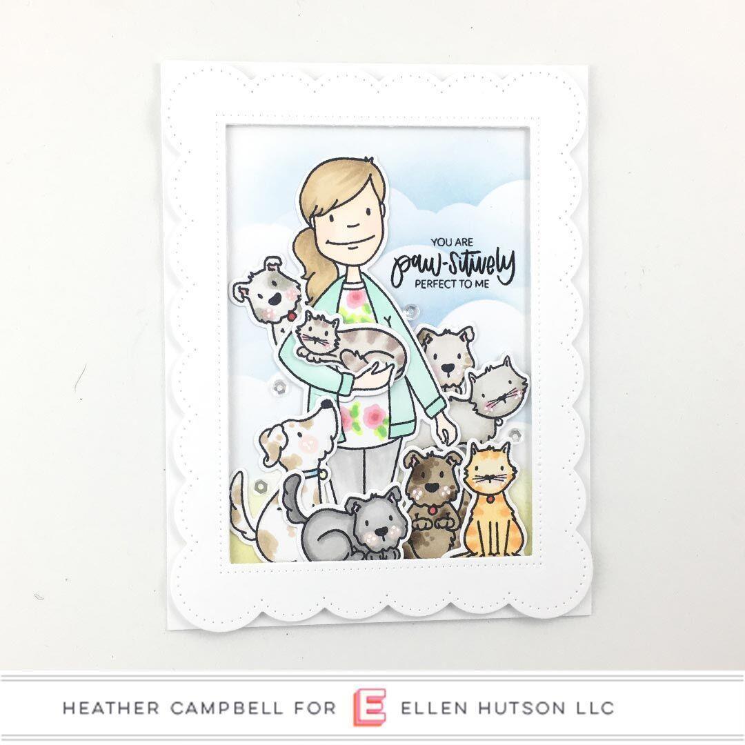 Essentials by Ellen Designer Dies, Leading Ladies - Dog Lady by Brandi Kincaid -