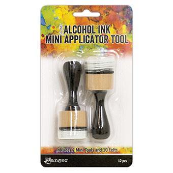 Ranger Alcohol Ink Mini Applicator Tools & Felts -