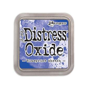 Ranger Distress Oxide Ink Pad, Blueprint Sketch -