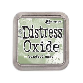 Ranger Distress Oxide Ink Pad, Bundled Sage -