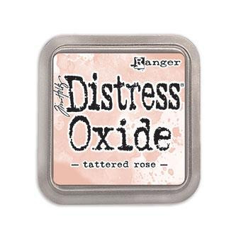 Ranger Distress Oxide Ink Pad, Tattered Rose -
