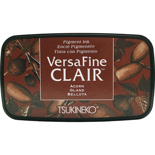 VersaFine Clair Ink Pad, Acorn -