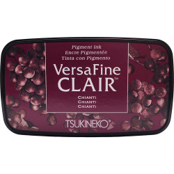 VersaFine Clair Ink Pad, Chianti -