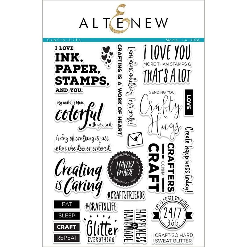 Altenew Clear Stamps, Crafty Life - 655646166063