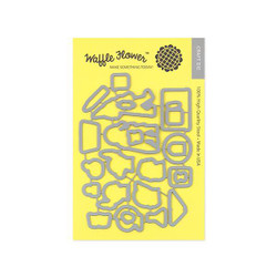Waffle Flower Dies, Pencil In - 653341226839