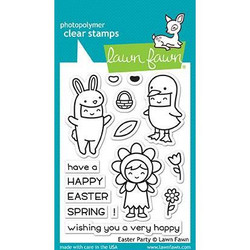 Lawn Fawn Clear Stamps, Easter Party - 035292669420