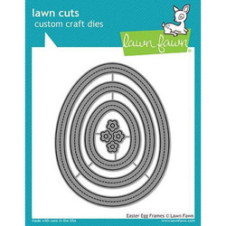 Lawn Cuts Dies, Easter Egg Frames - 035292669819