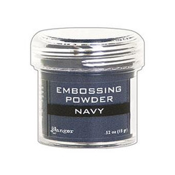 Ranger Embossing Powder, Navy Metallic -