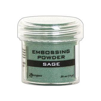 Ranger Embossing Powder, Sage Metallic -