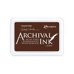 Ranger Archival Ink Pad, Acorn by Wendy Vecchi -