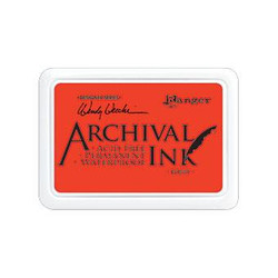 Ranger Archival Ink Pad, Poppy by Wendy Vecchi -