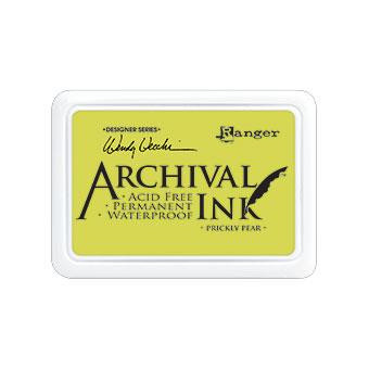 Ranger Archival Ink Pad, Prickly Pear by Wendy Vecchi -