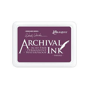 Ranger Archival Ink Pad, Thistle by Wendy Vecchi -