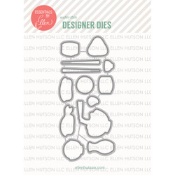 Essentials by Ellen Designer Dies, Wasabi by Julie Ebersole -