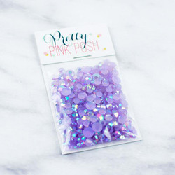 Pretty Pink Posh Jewels, Pansy Purple -